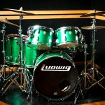 B studio drum set
