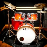 C studio drum set